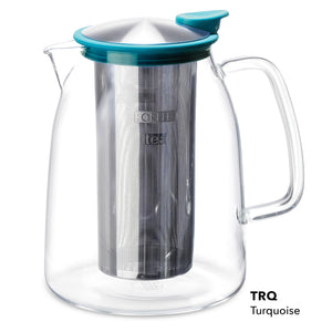 Mist Glass Iced Tea Jug 68 Oz.