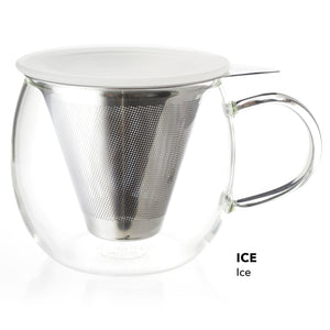 Lucidity Brew-in-cup with stainless infuser and lid