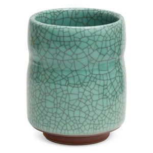 Celadon Crackle Teacup
