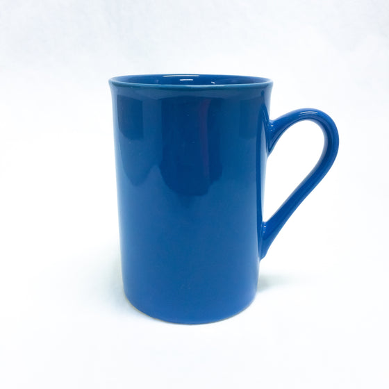 Bistro Mug Blue - Todd & Holland Tea Merchants