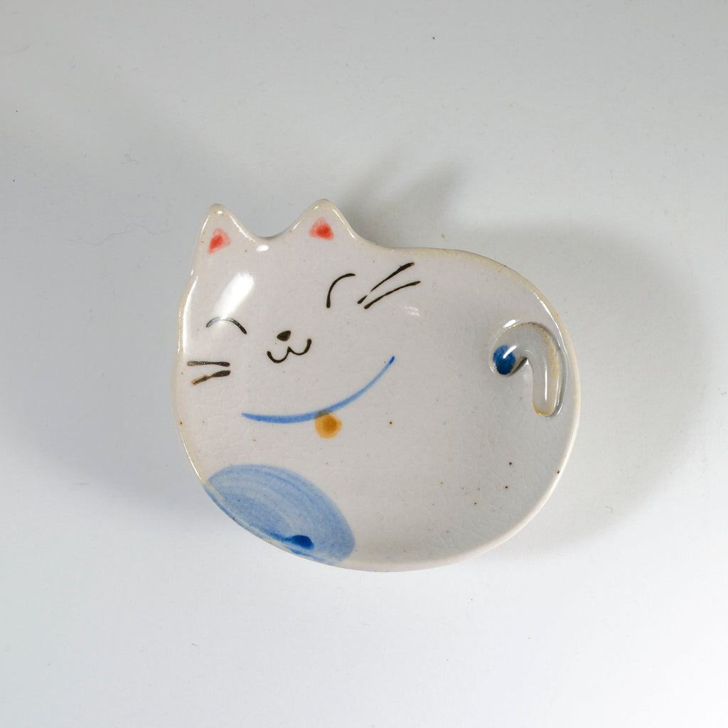 Teabag Cat Buchi Dish - Todd & Holland Tea Merchants