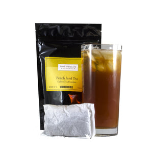 Peach Iced Tea Gallon Pouches - Todd & Holland Tea Merchants