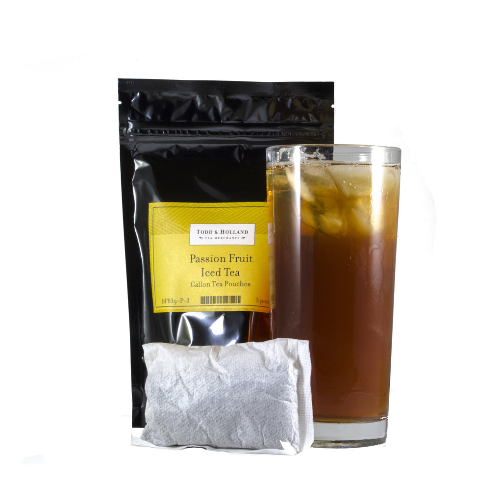 Passion Fruit Iced Tea Gallon Pouches - Todd & Holland Tea Merchants