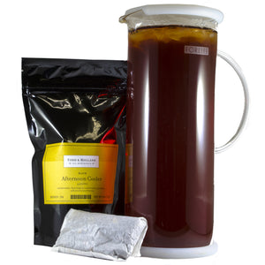 Afternoon Cooler Half-Gallon Pouches - Todd & Holland Tea Merchants