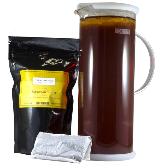 Savanah Sipper Half-Gallon Pouches - Todd & Holland Tea Merchants