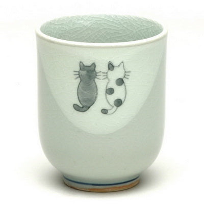 Black & Tama Cat Cup - Todd & Holland Tea Merchants