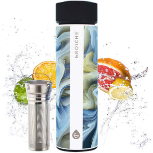 Chicago Double Walled Stainless Tumbler with Infuser