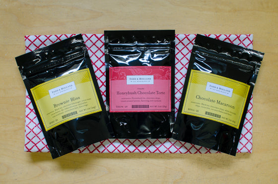 Chocolate Lover's Threesome - Todd & Holland Tea Merchants