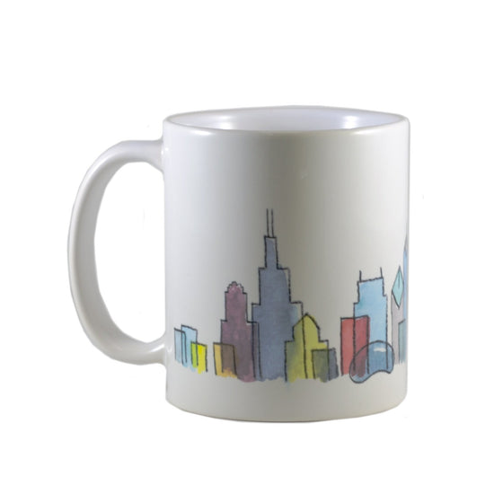 Chicago Skyline Mug - Todd & Holland Tea Merchants