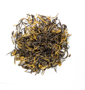 Mingqian Honeysuckle Black Tea