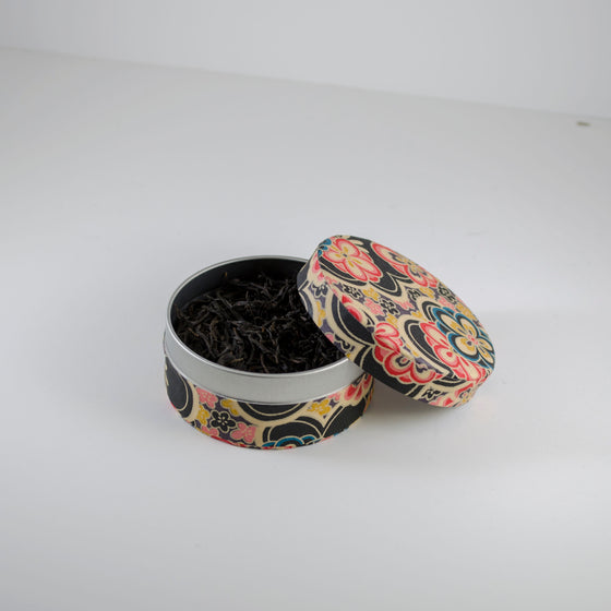 Dan Cong Black in Washi Pocket Canister