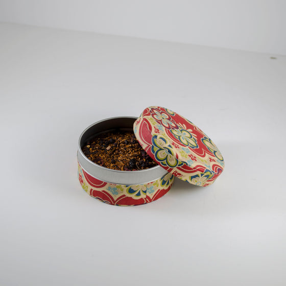 Rooibos Blueberry in Washi Pocket Canister - Todd & Holland Tea Merchants
