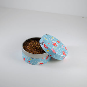 Rooibos Raspberry in Washi Pocket Canister - Todd & Holland Tea Merchants
