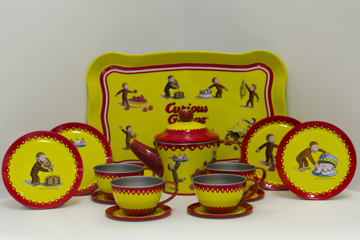 Curious George Tin Tea Set - Todd & Holland Tea Merchants