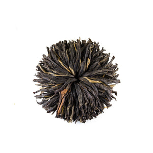 Black Mudan Rosettes - Todd & Holland Tea Merchants