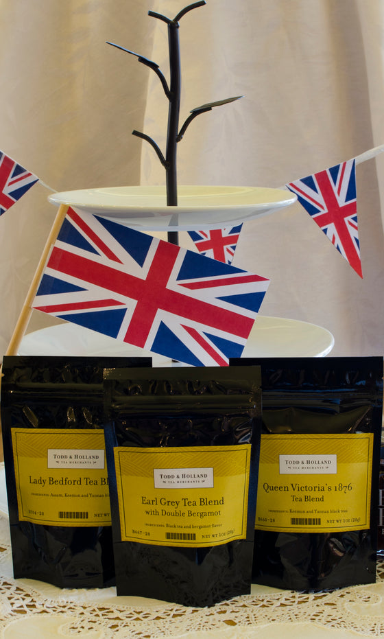 Proper English Tea Trio - Todd & Holland Tea Merchants