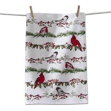 Birds & Berries Towel