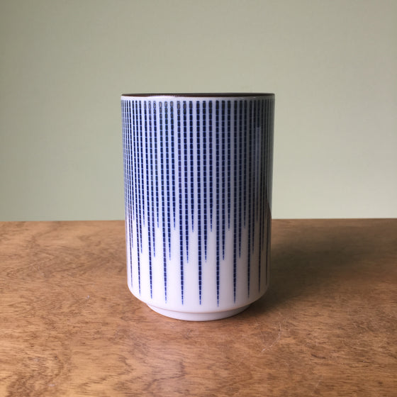 Blue Spoke Cup - Todd & Holland Tea Merchants