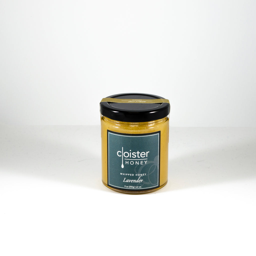 Cloister Whipped Honey with Lavender - Todd & Holland Tea Merchants