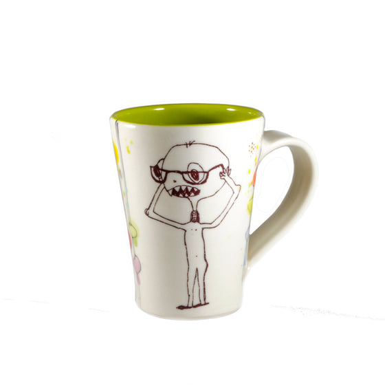 Nearsighted Cricket Collector Mug