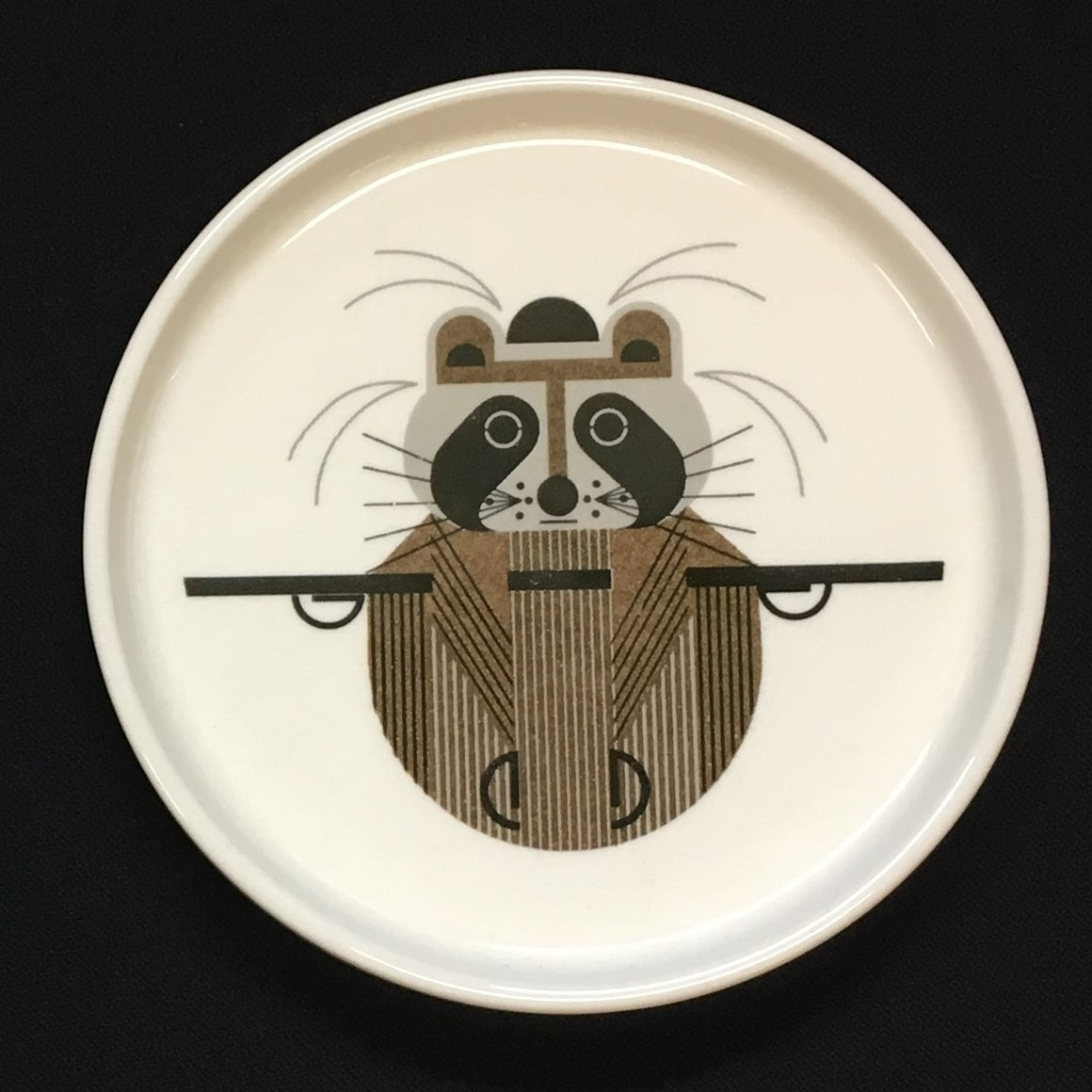 Charley Harper Racoon Dish - Todd & Holland Tea Merchants