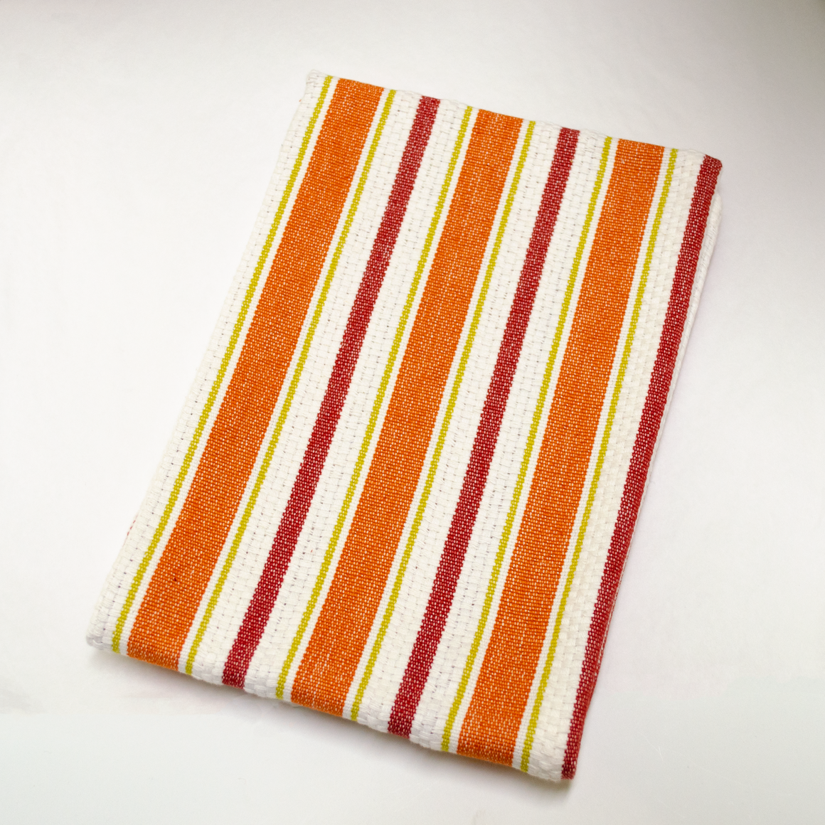 Farmer Plaid Towel - Rust