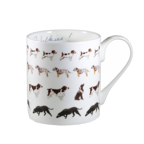 Dogs Walkies Mug - Todd & Holland Tea Merchants