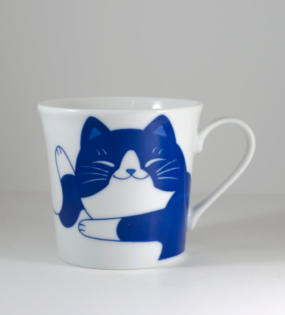 Tuxedo Cat Mug - Todd & Holland Tea Merchants
