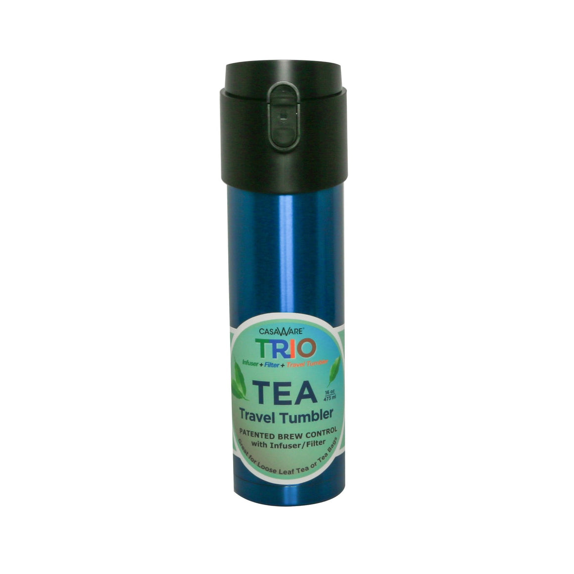 Trio Tea Travel Tumbler 16 oz