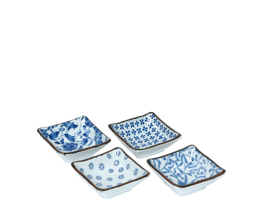 Blue & White Sauce Dish - Individual - Todd & Holland Tea Merchants