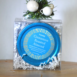 Cinnamon Roasted Almond in Kosmic Blue Tin