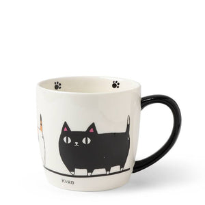 Shiro/Kuro/Mike Cat Mug