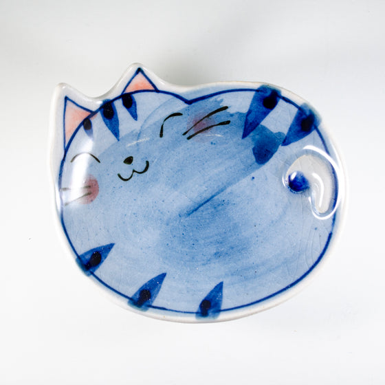 Teabag Blue Cat Bucci Dish
