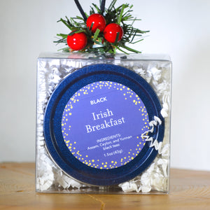 Irish Breakfast in Midnight Blue Tin