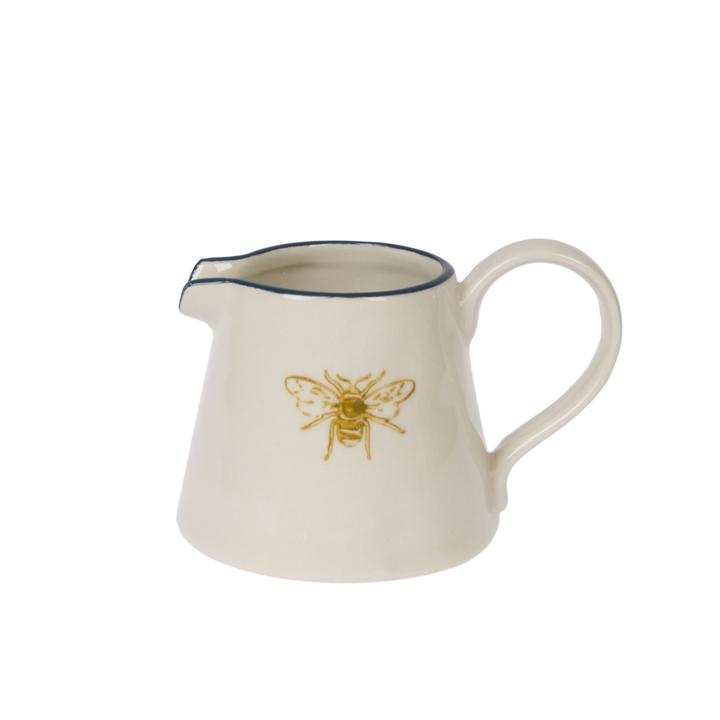 Bee Mini Stoneware Jug