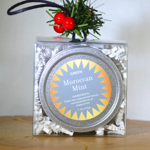 Moroccan Mint in Silver tin