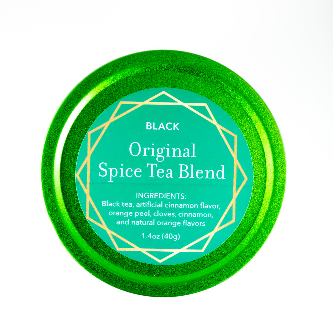 Original Spice in festive green tin