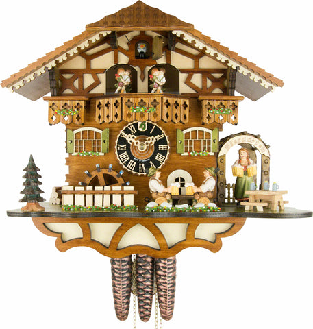 8 Day Musical Chalet Cuckoo Clocks