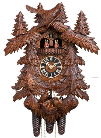 8 Day Musical Cuckoo Clocks