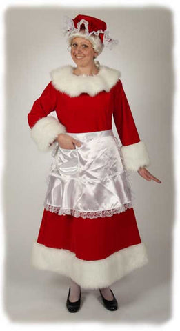 Mrs. Claus Costume Suits