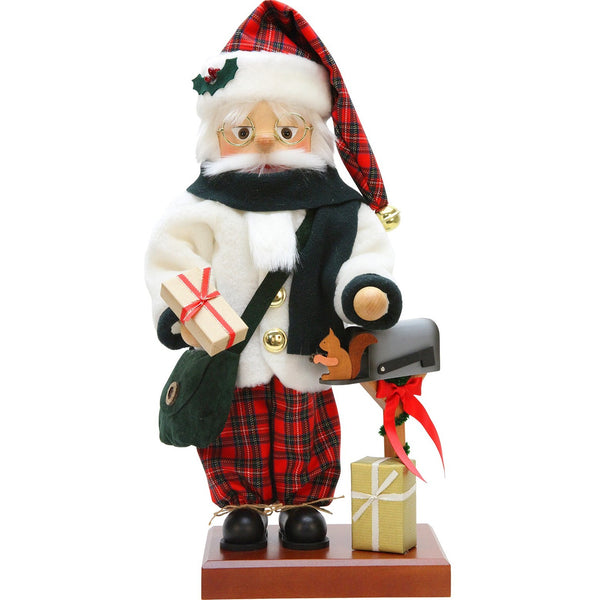 Scottish Santa, 2017 Ulbricht German Nutcrackers - SavvyNiche.com