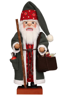 Santa Christmas Nutcracker Wood Santa Clause Germany