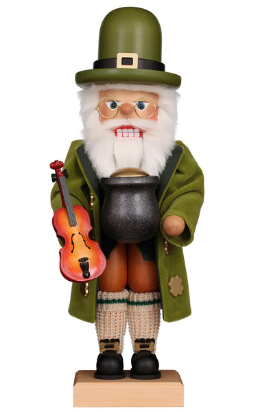 Irish Santa Christmas German Nutcrackers Ireland Santa Clause