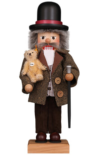 German Made Wooden Nutcracker Teddy Roosevelt President