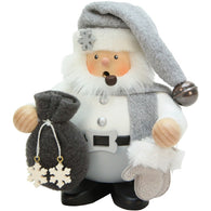 Gray Suit Santa with sack, Ulbricht German Christmas Smokers - SavvyNiche.com