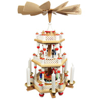 Santa Children Playhouse, Richard Glaesser Christmas Pyramids - SavvyNiche.com