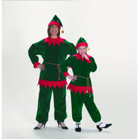 Velvet Elf Suit, Elf & Santas Helper Costume Suits - SavvyNiche.com