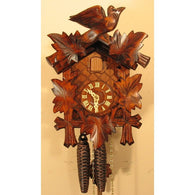 Cuckoo Clock Leaves and Bird, 1 Day Cuckoo Clocks - SavvyNiche.com