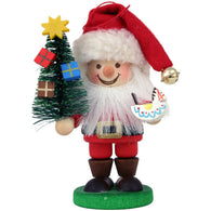 Santa Claus with tree and toy, Ulbricht Christmas Ornaments - SavvyNiche.com
