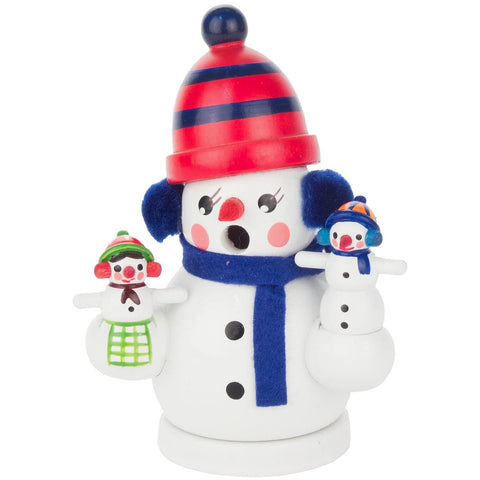 Snowman Family, Dregeno Incense Burner Smokers - SavvyNiche.com